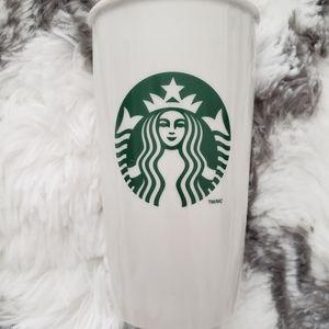 Starbucks ceramic coffee cup